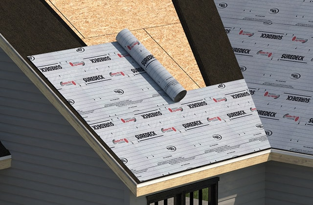 Shingle-roof-underlayment-protection