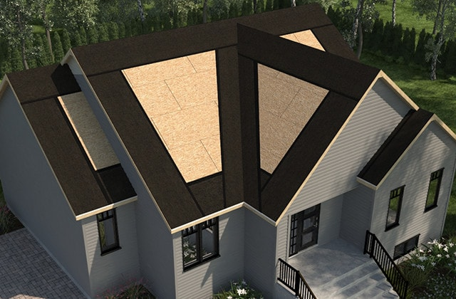 Shingle-roof-waterproof-eaves-valleys