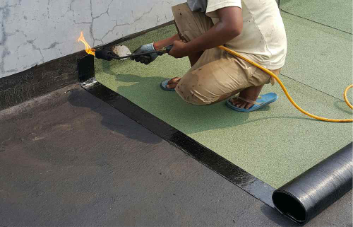 membrane torching 1