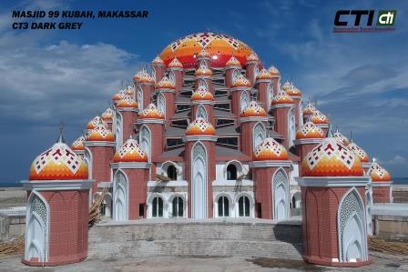Masjid 99 Kubah - Makasar