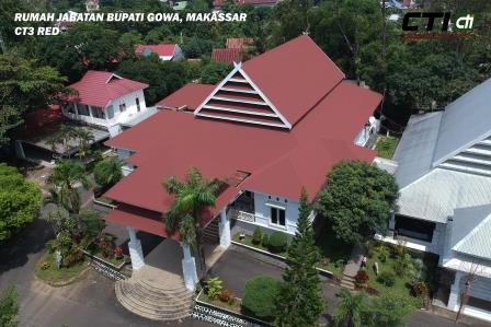 Rumah Dinas Bupati Gowa -Makasar