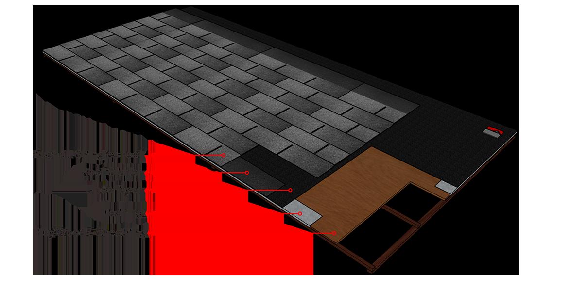 tahapan Pemasangan Atap Bitumen aspal